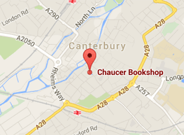 Get directions to The Chaucer Bookshop